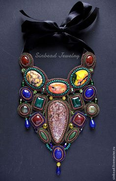 "Kolia ""Morocco night"" by Sinbead Jewelry"