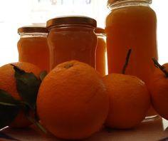 Las recetas de Inmita: MERMELADA DE NARANJA