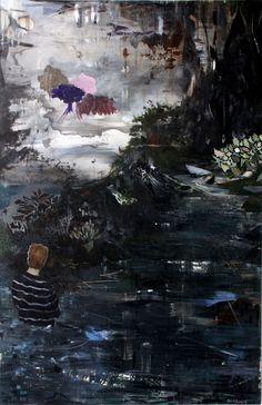 Kevin A. Rausch - No Mans Land, 200 x 130 cm, 2013,  MT / Lw