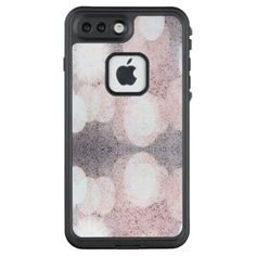 #glitter - #Pink And Gray Glitter Looking Pattern LifeProof FRĒ iPhone 7 Plus Case