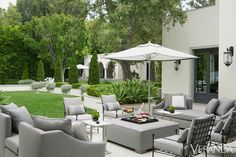 greige: interior design ideas and inspiration for the transitional home : Modern grey in Los Angeles...