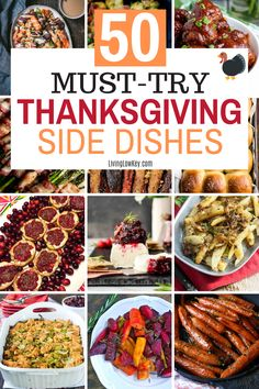 50 juicy Thanksgiving side dishes you don't want to miss. If you looking for an easy side dish to add to your feast make sure you give these a try. #thankgivingrecipes #thanksgivingsidedishes #sidedishes #thanksgivingmeal #dinnerideas Cheap College Meals, Cheap Meals To Cook, Cheap Vegetarian Meals, Best Thanksgiving Recipes, Thanksgiving Side Dishes, Homemade Dinner Rolls, Easy Dinner Recipes, Creamy Corn Casserole, Glazed Sweet Potatoes