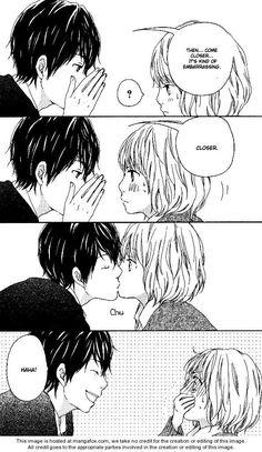 kiss, manga, and anime image Couple Manga, Anime Love Couple, Anime Couples Manga, I Love Anime, Cute Anime Couples, Manga Anime, Manga Kiss, Image Couple, Cosplay Anime