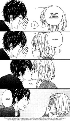 So sly ^^ Ovally Trap :3 #manga