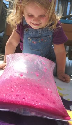 Exploding Paint Bags- a super FUN way for kids to create art with a little Science mixed in, too!