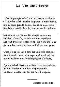 Baudelaire - La Vie