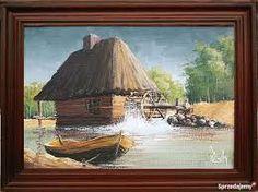 Znalezione obrazy dla zapytania Młyn w malarstwie