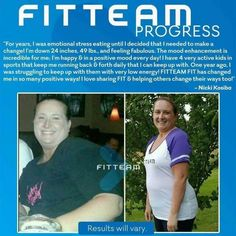www.fitteamfit.takeactioninhealth.com Facebook: www.facebook.com/FitteamEnjoyLife Pinterest FITTEAM Results  http://pin.in/xzcizv1  http://pin.it/eUF10Ym