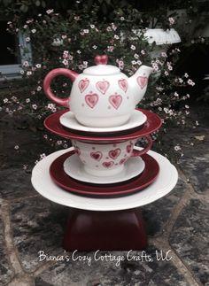 A personal favorite from my Etsy shop https://www.etsy.com/listing/246088141/teapot-whimsy-birdbath-birdfeeder-garden