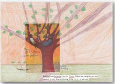 Couverture réalisée par Angelina. Pour voir le livre utilisé, il faut cliquer sur mon dessin.