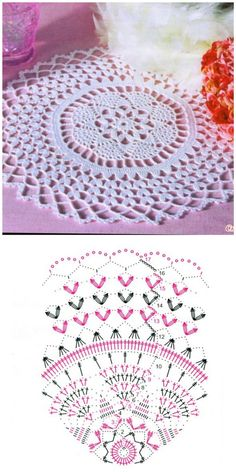 How to Crochet a Solid Granny Square Crochet Doily Rug, Crochet Circles, Crochet Tablecloth, Crochet Home, Thread Crochet, Filet Crochet, Crochet Flowers, Knit Crochet, Crochet Stitches Patterns