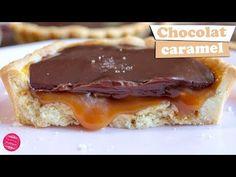 Recette de tartelettes chocolat caramel ultra gourmandes ! Une recette irrésistible et inratable.
