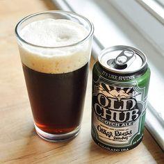 Old Chub Scotch Ale from Oskar Blues Brewery, Longmont, Colorado (Scotch Ale, 8% ABV)