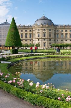 The Würzburg Residence is a spectacular palace in Würzburg in southern Germany