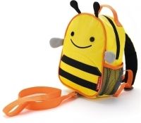 Buy Skip Hop: Zoo-Let Backback Harness - Bee online and save! This Zoo pal keeps little ones close during journeys! Zoo Harness is a mini backpack with a detachable tether for the smallest travelers. It features. Toddler Bag, Toddler Backpack, Mini Backpack, Toddler Gifts, Kids Gifts, Mini Mochila, Skip Hop Zoo, Baby Model, Hand In Hand