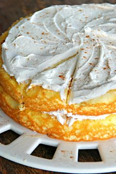 my fair baking: tres leches layer cake