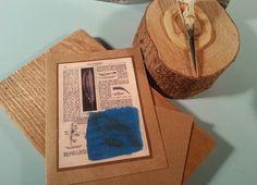Blank cards Encaustics by Kim Oka available at Anatomical Botanical on Etsy