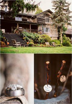 Destination mountain elopement at The Swag Inn in Waynesville, NC.