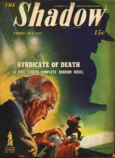 Shadow Magazine Cover