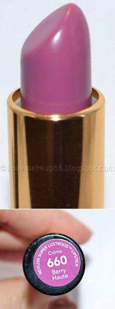 Revlon super lustrous lipstick in berry haute | makeUP ...