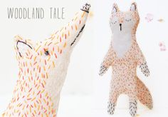 Kate's handmade cuties from the Ukraine in her shop, Woodland Tale. Lots of  sweet plush toys that are finished so nicely. I like Kate's ima...