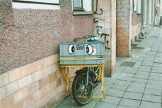 a funny bike