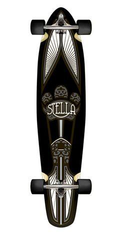 """Longboard Stella """"Taj Mahal Black"""""""
