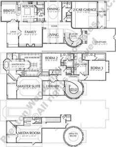 2 Story Urban Home Plan Three Story House, Two Story House Plans, Dream House Plans, House Floor Plans, Modern Architecture House, Architecture Diagrams, Architecture Portfolio, I Love House, Mountain House Plans