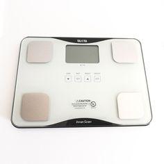 Tanita BC 718 dostępny jest także w eleganckim białym kolorze Weight Set, Monitor