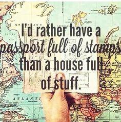 Passport. Travel.