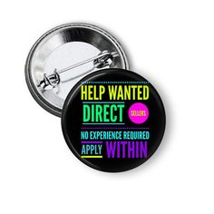 Direct Sales Marketing Pins color customization available #Younique #marykay #avon #Tupperware #itworksglobal #posh #Herbalife #plexus #directsales #mlm #marketing