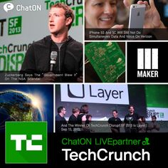 [ChatON LIVEpartner] TechCrunch/ With ChatON v3.0, ChatON Special friends also reformed to ChatON LIVE partner.We introduce you ChatON LIVE Partner TechCrunch. Keep up to date with the latest Tech, start ups and innovators news through TechCrunch. [ChatON LIVEpartner] TechCrunch/ChatON3.0과 함께 새롭게 단장한 ChatONLIVEpartner! LIVEpartner TechCrunch를 소개해 드립니다.전세계의 최신 기술, IT, 혁신사업가 소개, 신 사업 소식을 발 빠르게 만나 보세요!