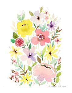 Bounty Art Print Stephanie Ryan