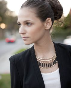 Tribal Fringe Collar -don't love the name, but it's a pretty piece