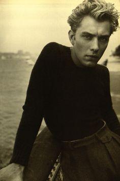 Jude Law, l'Uomo Vogue 1995