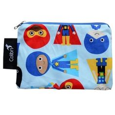 Colibri Reusable Snack Bag- Perfect snack bag to go with the Super Words Matkin!