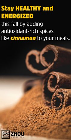 Add a little cinnamon to your favorite dishes and drinks to support healthy immune system. Be sure to use Ceylon Cinnamon, not Cassia Cinnamon, for the best immune-supporting results. Don't like the taste of cinnamon or just want an antioxidant extra boost? Try Zhou's Ceylon Cinnamon: http://www.zhounutrition.com/products/ceylon-cinnamon