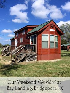 Looking for Petite Retreats at Bay Landing Campground Bridgeport, TX? You'll find the cutest ones here along with cabins, RV camping & more! Texas Roadtrip, Texas Travel, Rv Camping, Glamping, Dallas Fort Worth Texas, Tiny House, Road Trip, Cabin, House Styles
