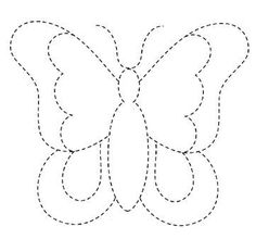 The Latest Trend in Embroidery – Embroidery on Paper - Embroidery Patterns Applique Templates, Applique Patterns, Applique Quilts, Applique Designs, Quilting Designs, Owl Templates, Butterfly Quilt, Butterfly Template, Butterfly Pattern