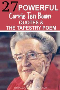 27 Faith-Inspired Corrie Ten Boom Quotes