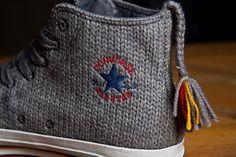knitted chucks