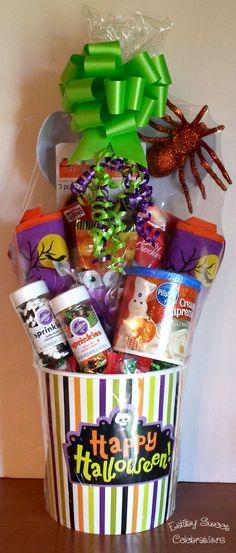 Halloween Cookie making gift basket