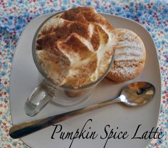 Pumpkin Spice Latte made with homemade pumpkin spice blend YUM! Pumpkin Recipes, Fall Recipes, Holiday Recipes, Snack Recipes, Drink Recipes, Holiday Foods, Yummy Recipes, Recipies, Yummy Drinks