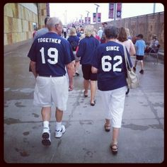 Together since t-shirts...great idea for landmark anniversaries!