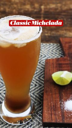 Maggi Sauce, Mexican Cocktails, Cocktail Juice, Lager Beer, Lime Juice, Hot Sauce, Pint Glass, Smoothie Recipes, St Louis