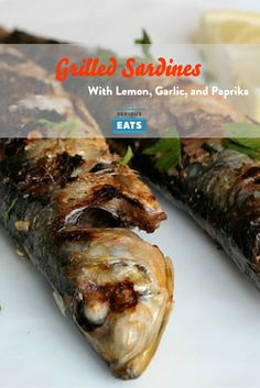 Because of their small size, sardines make for a quick and easy to prepare finger food option. When quickly crisped over an open flame, they are great when paired with a glass of Rioja or a cold beer.