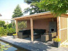 Backyard, Patio, Outdoor Living, Outdoor Decor, Little Houses, Outdoor Gardens, Garden Design, Pergola, Home Improvement