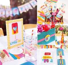 Popsicle baby shower/party