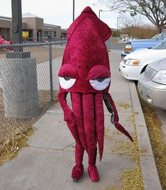 So this is some kind of creatively awesome. Squid costume by BWJones, via Flickr