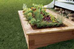 Raised bed gardening designs
